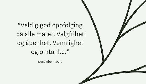 Tilbakemelding Verd Begravelse Oslo