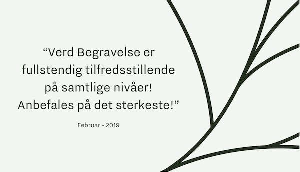 Tilbakemelding-Verd-Begravelsesbyrå-Oslo